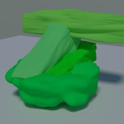 woodrock.png Télécharger fichier OBJ woodrock • Plan pour impression 3D, meharban