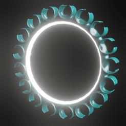strange light.png Download free OBJ file circle light • Template to 3D print, meharban