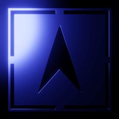 Descargar modelos 3D logo de star trek, meharban