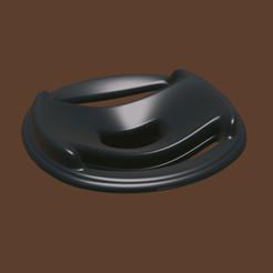 tool shape 8a.png Télécharger fichier OBJ COUVERCLE DE VIDANGE • Objet à imprimer en 3D, meharban