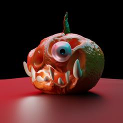 hollowin pumkin1.png Télécharger fichier OBJ Fête d'Halloween • Design imprimable en 3D, meharban