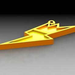 Download STL Key ring: Voltio Medal, saenzromero20