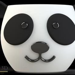 frente.jpg Télécharger fichier STL Joli panda • Modèle imprimable en 3D, SaenzRomero_Eureka3DED