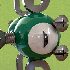 iso1.jpg Télécharger fichier STL Magnemite • Design à imprimer en 3D, SaenzRomero_Eureka3DED