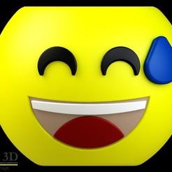 FRENTE.jpg Download STL file Cute Emoji pot, model 2 • 3D printer template, SaenzRomero_Eureka3DED