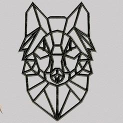 frente.jpg Télécharger fichier STL Lobo / Loup / Loup • Plan imprimable en 3D, SaenzRomero_Eureka3DED