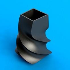 Download free 3D printer designs Pencil Holder, saenzromero20