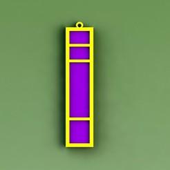 Download 3D model Key ring pokemón: Insignia Base, saenzromero20