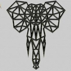 frente.jpg Télécharger fichier STL Elephant / Elephant / l'éléphant • Modèle imprimable en 3D, SaenzRomero_Eureka3DED