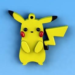 Descargar archivo 3D gratis Llavero de Pikachu, saenzromero20