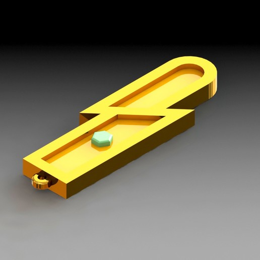 Download 3D print files key ring: Trembling Medal, saenzromero20