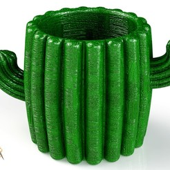 Download 3D printing templates Vase Combo: Cactus Vase, Giraffe Vase, Porcupine Vase, saenzromero20