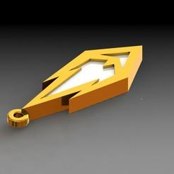 Download STL key ring: candle medal, saenzromero20