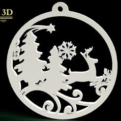 esfera1.jpg Télécharger fichier STL Sphères de Noël ( 6 dessins ) • Modèle pour impression 3D, SaenzRomero_Eureka3DED