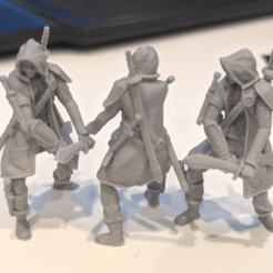 Descargar modelo 3D gratis Monstruo de los Círculos Olvidados de Gloomhaven: Hoja de Aesther Ashblade, VirtuallyJason