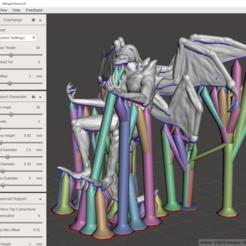 Télécharger fichier 3D Gloomhaven Boss : Winged Horror (Blender et fichiers supportés), VirtuallyJason
