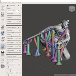 Télécharger plan imprimante 3D Le monstre des cercles oubliés de Gloomhaven : Aesther Scout (Blender et fichiers supportés), VirtuallyJason