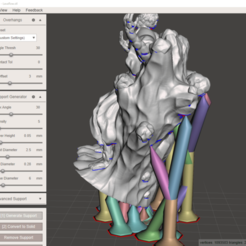 Download 3D printing designs Gloomhaven Monster: Savvas Lavaflow (Blender and Supported Files), VirtuallyJason