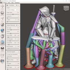 Télécharger objet 3D Le monstre des cercles oubliés de Gloomhaven : Aesther Ashblade (mélangeur et fichiers supportés), VirtuallyJason