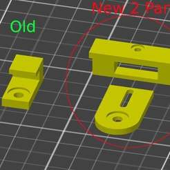 Download free 3D printing designs New 2 Part Adjustable Tevo Tornado Broken Bed Fix Clips, ewr2san
