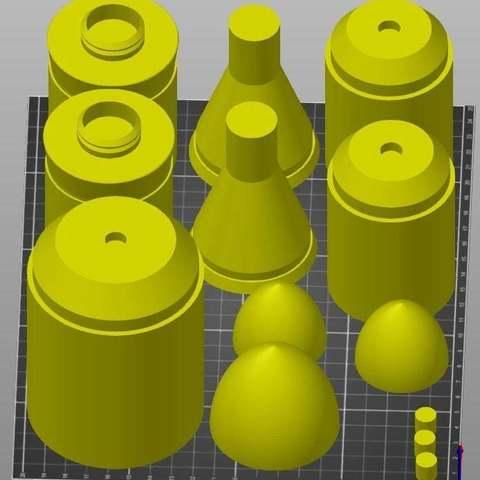db64c4dda980b956e5c4d21eb2257d3a_display_large.jpg Télécharger fichier STL gratuit Clone Wars Era Rockets pour Boba Fett Jet Pack • Modèle pour impression 3D, ewr2san