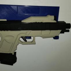 image.png Download free STL file Wall Mount Display for Star Helix Pistol • 3D printing design, ewr2san