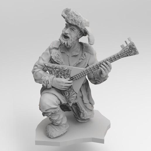 Download free STL file Balalaika bard • 3D printable model, Boris3dStudio
