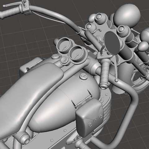 39f532b7020d82c0b34a0364579b5c35_display_large.jpg Download free STL file Chopper bike • Model to 3D print, Boris3dStudio
