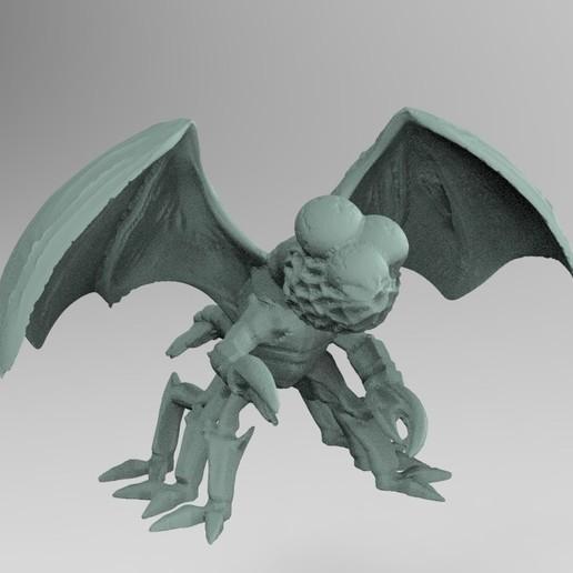 Télécharger STL gratuit Créature de l'essaim miniature, Boris3dStudio