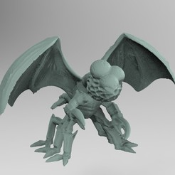 untitled.156.jpg Download free STL file Swarm creature miniature • Object to 3D print, Boris3dStudio