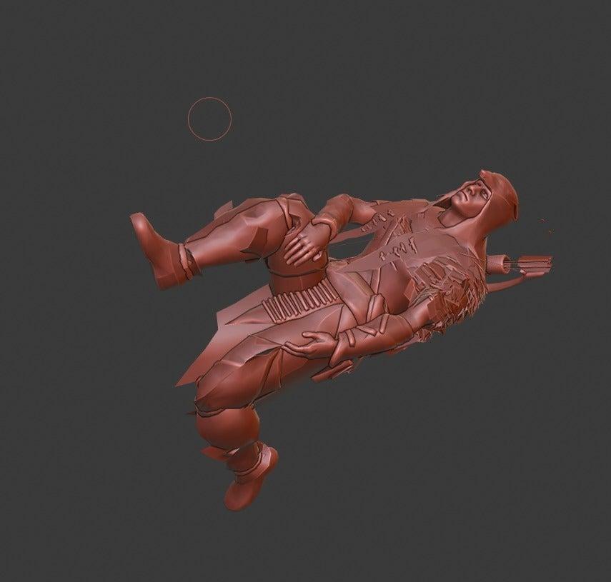 88aca90c817868551091b5cade89670a_display_large.jpg Download free STL file Hunter • 3D print template, Boris3dStudio