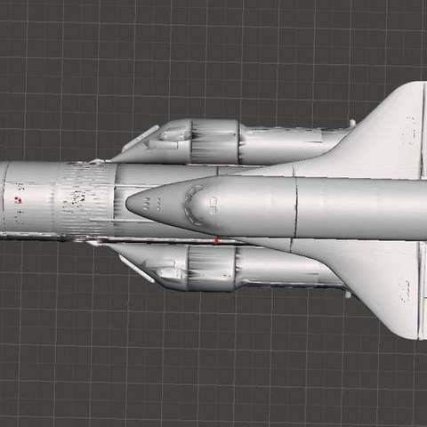 8a1fe49877b4fde449493eb6e5128203_display_large.jpg Télécharger fichier STL gratuit Energiya Bourane (navette spatiale russe) Fusée à énergie (programme Bourane) • Objet pour impression 3D, Boris3dStudio
