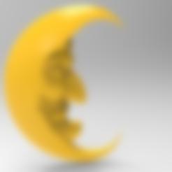 Download free STL file Crescent to the nursery, Boris3dStudio