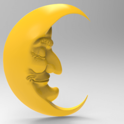 untitled.239.png Download free STL file Crescent to the nursery • Object to 3D print, Boris3dStudio