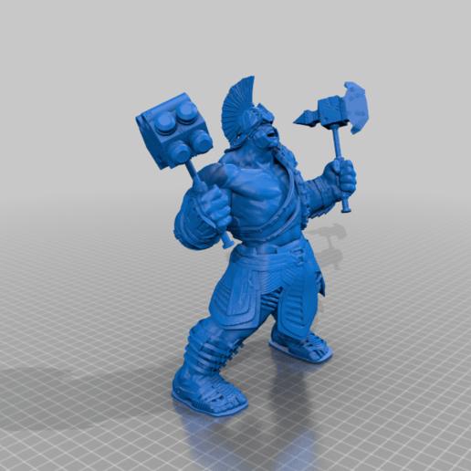 Hulk_Ragnarek.png Télécharger fichier STL gratuit Hulk Ragnarek • Objet à imprimer en 3D, Boris3dStudio
