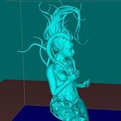 Télécharger fichier imprimante 3D gratuit Dryade maléfique, Boris3dStudio
