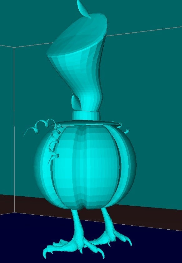 0ff0a3d73e6d6aa1d6deddaa9fdde263_display_large.jpg Download free STL file Cute  pumpkin • 3D printing object, Boris3dStudio