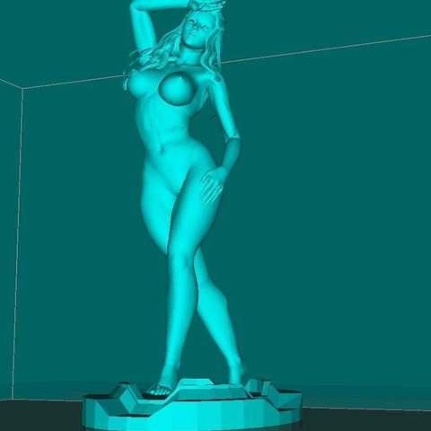 Télécharger STL gratuit Aphrodite NSFW, Boris3dStudio