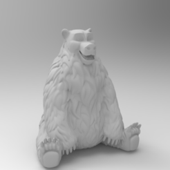 untitled.249.png Download free STL file Baloo (Happy bear) • 3D printing model, Boris3dStudio