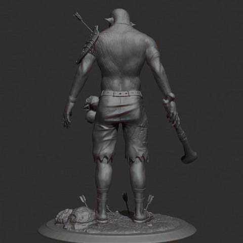 4ac3dcaec6a972badfa2f47e8dc8c2fe_display_large.jpg Download free STL file Cannibal tabletop figure • 3D printing object, Boris3dStudio