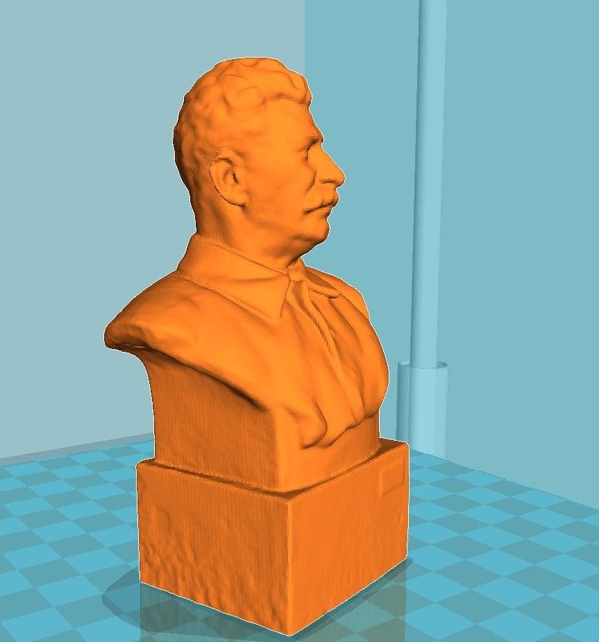 cd5451b726c88eb4aa10ee5434214c6b_display_large.jpg Télécharger fichier STL gratuit Staline BUST du musée GORKI LENINSKIYE • Design pour impression 3D, Boris3dStudio