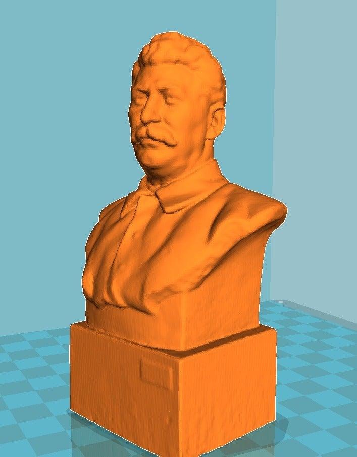 614e863affcb6d0561d26280d097a971_display_large.jpg Télécharger fichier STL gratuit Staline BUST du musée GORKI LENINSKIYE • Design pour impression 3D, Boris3dStudio