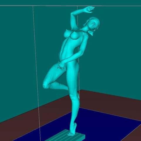Download free 3D printing designs Naked Themis NSFW, Boris3dStudio