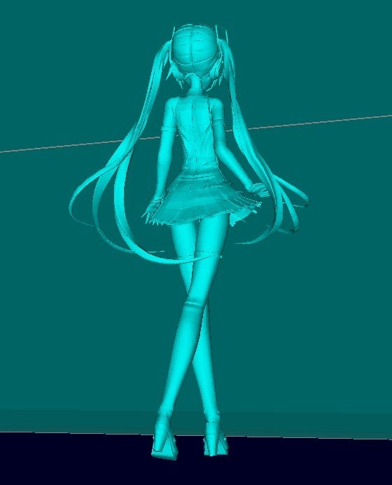 6c0e351b42a2a2651ffe0d311a15fd87_display_large.jpg Download free STL file Miku Hatsune • 3D printer design, Boris3dStudio