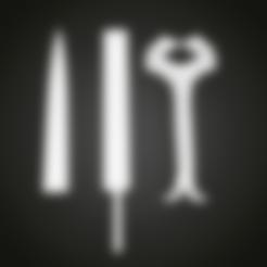 Télécharger fichier 3D gratuit Épée Cosplay de Wonder Woman, Boris3dStudio