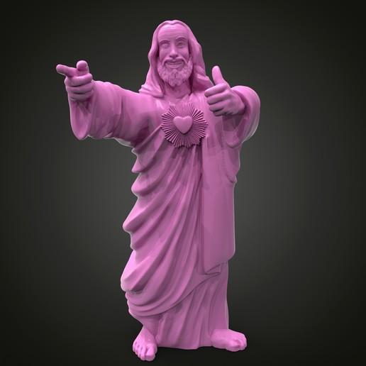 Impresiones 3D gratis Jesús del Dogma, Boris3dStudio