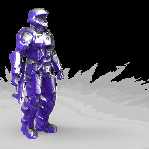 Download free STL file Halo miniature • Template to 3D print, Boris3dStudio