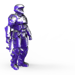 s1.193.png Download free STL file Halo miniature • Template to 3D print, Boris3dStudio
