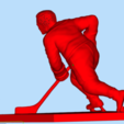 Download free 3D printing models Hockey player number 9, Boris3dStudio