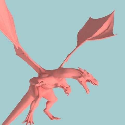 dbc6e83971fc4781609cc25d5774f45f_display_large.jpg Télécharger fichier STL gratuit Charizard Dragon réaliste • Modèle à imprimer en 3D, Boris3dStudio